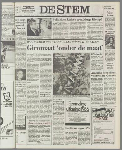 de Stem 1986-10-29