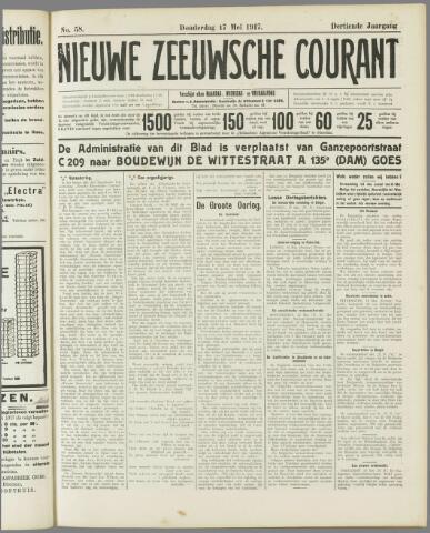 Nieuwe Zeeuwsche Courant 1917-05-17