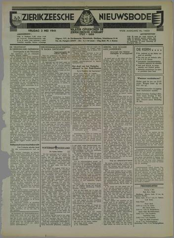 Zierikzeesche Nieuwsbode 1941-05-02