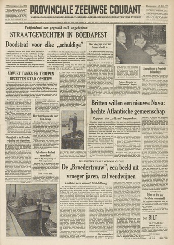 Provinciale Zeeuwse Courant 1956-12-13