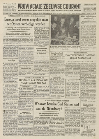 Provinciale Zeeuwse Courant 1953-01-30