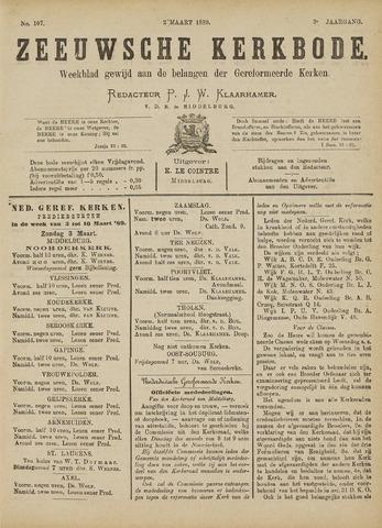 Zeeuwsche kerkbode, weekblad gewijd aan de belangen der gereformeerde kerken/ Zeeuwsch kerkblad 1889-03-02