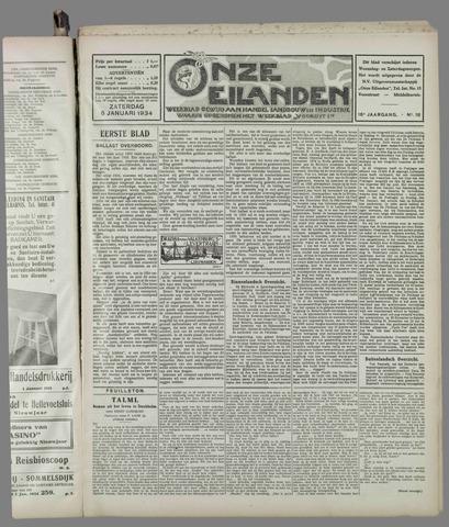Onze Eilanden 1934