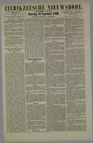 Zierikzeesche Nieuwsbode 1893-09-16