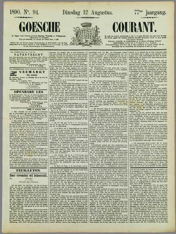 Goessche Courant 1890-08-12