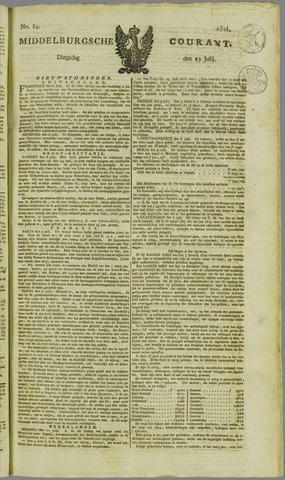Middelburgsche Courant 1824-07-13