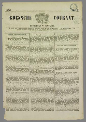 Goessche Courant 1852-01-08