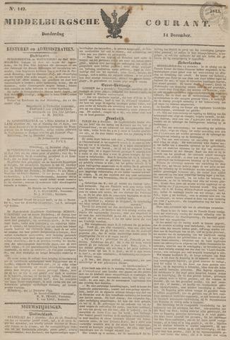 Middelburgsche Courant 1843-12-14