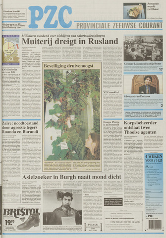Provinciale Zeeuwse Courant 1996-10-26
