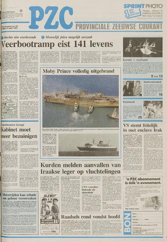Provinciale Zeeuwse Courant 1991-04-12