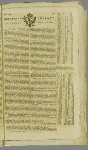 Middelburgsche Courant 1806-12-09