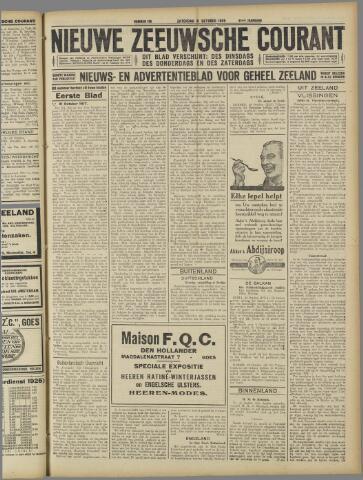 Nieuwe Zeeuwsche Courant 1925-10-31