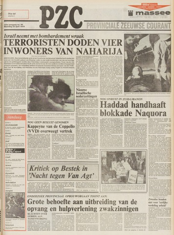 Provinciale Zeeuwse Courant 1979-04-23