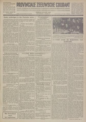 Provinciale Zeeuwse Courant 1941-11-28
