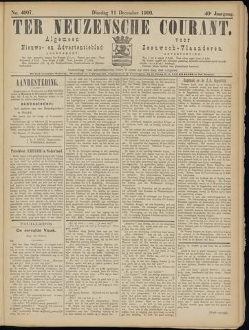 Ter Neuzensche Courant. Algemeen Nieuws- en Advertentieblad voor Zeeuwsch-Vlaanderen / Neuzensche Courant ... (idem) / (Algemeen) nieuws en advertentieblad voor Zeeuwsch-Vlaanderen 1900-12-11