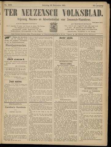 Ter Neuzensch Volksblad. Vrijzinnig nieuws- en advertentieblad voor Zeeuwsch- Vlaanderen / Zeeuwsch Nieuwsblad. Nieuws- en advertentieblad voor Zeeland 1911-12-23