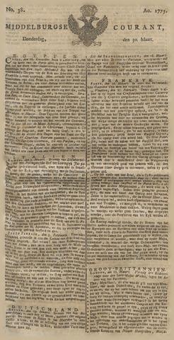 Middelburgsche Courant 1775-03-30