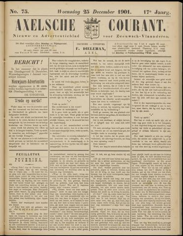 Axelsche Courant 1901-12-25