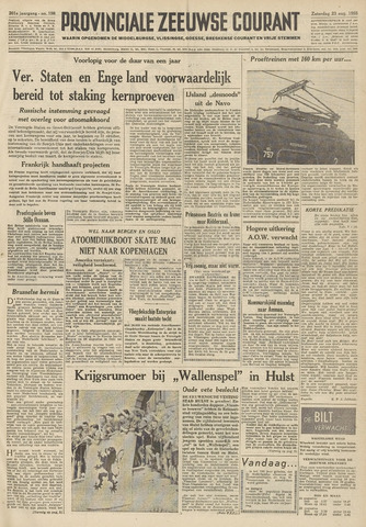Provinciale Zeeuwse Courant 1958-08-23