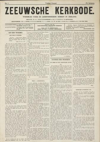 Zeeuwsche kerkbode, weekblad gewijd aan de belangen der gereformeerde kerken/ Zeeuwsch kerkblad 1933