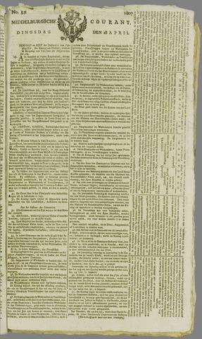 Middelburgsche Courant 1807-04-28