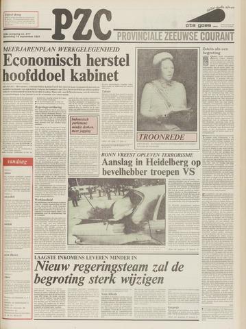 Provinciale Zeeuwse Courant 1981-09-16