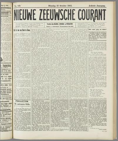 Nieuwe Zeeuwsche Courant 1912-10-22