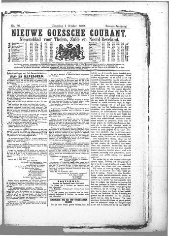 Nieuwe Goessche Courant 1872-10-01