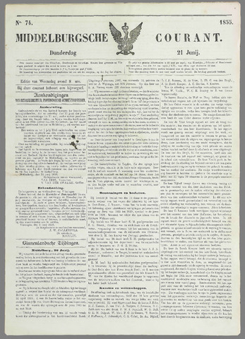 Middelburgsche Courant 1855-06-21