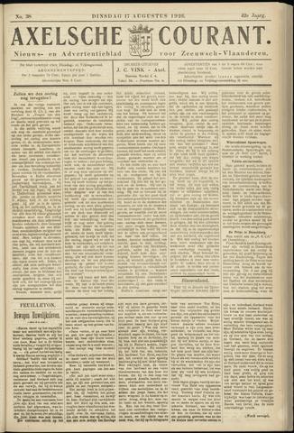 Axelsche Courant 1926-08-17