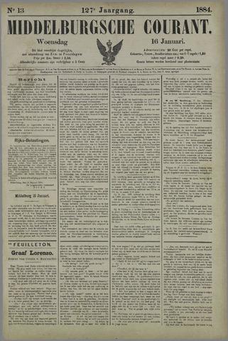 Middelburgsche Courant 1884-01-16