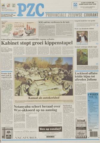 Provinciale Zeeuwse Courant 1998-11-07