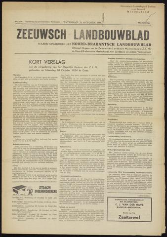 Zeeuwsch landbouwblad ... ZLM land- en tuinbouwblad 1954-10-23