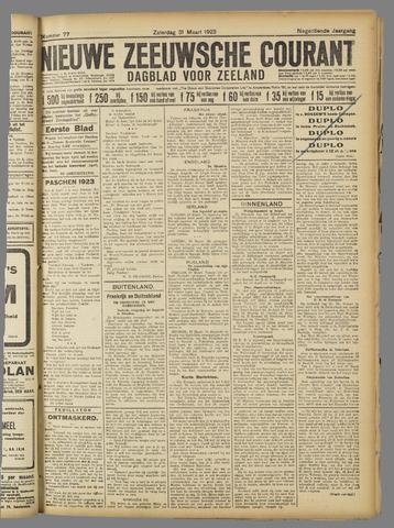 Nieuwe Zeeuwsche Courant 1923-03-31
