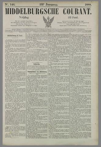 Middelburgsche Courant 1888-06-22