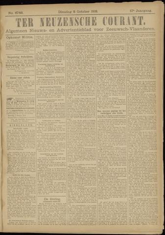 Ter Neuzensche Courant. Algemeen Nieuws- en Advertentieblad voor Zeeuwsch-Vlaanderen / Neuzensche Courant ... (idem) / (Algemeen) nieuws en advertentieblad voor Zeeuwsch-Vlaanderen 1918-10-08