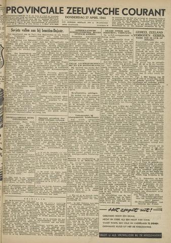 Provinciale Zeeuwse Courant 1944-04-27