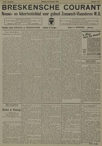 Breskensche Courant 1936-02-25