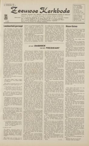 Zeeuwsche kerkbode, weekblad gewijd aan de belangen der gereformeerde kerken/ Zeeuwsch kerkblad 1962-08-31