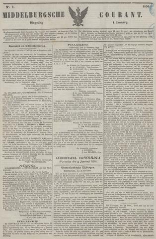 Middelburgsche Courant 1850-01-01