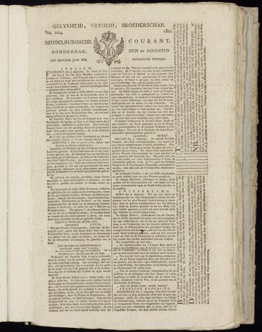 Middelburgsche Courant 1801-08-20