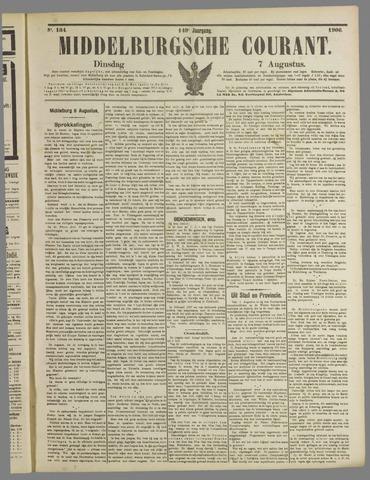 Middelburgsche Courant 1906-08-07