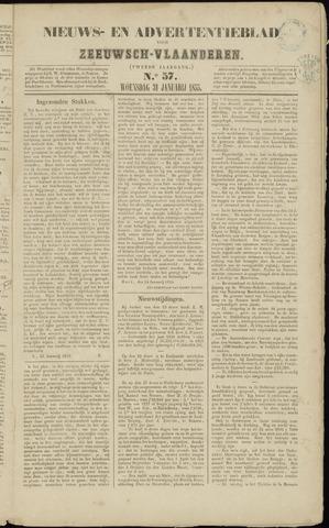 Ter Neuzensche Courant. Algemeen Nieuws- en Advertentieblad voor Zeeuwsch-Vlaanderen / Neuzensche Courant ... (idem) / (Algemeen) nieuws en advertentieblad voor Zeeuwsch-Vlaanderen 1855-01-31