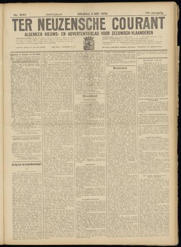 Ter Neuzensche Courant. Algemeen Nieuws- en Advertentieblad voor Zeeuwsch-Vlaanderen / Neuzensche Courant ... (idem) / (Algemeen) nieuws en advertentieblad voor Zeeuwsch-Vlaanderen 1934-05-04
