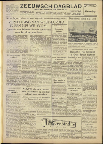 Zeeuwsch Dagblad 1954-10-04