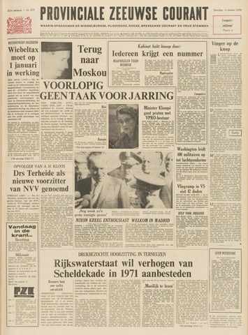 Provinciale Zeeuwse Courant 1970-10-03