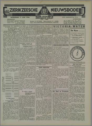 Zierikzeesche Nieuwsbode 1936-06-17