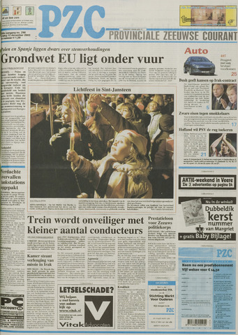 Provinciale Zeeuwse Courant 2003-12-12