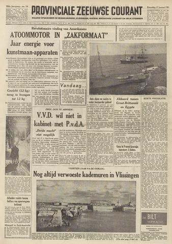 Provinciale Zeeuwse Courant 1959-01-17