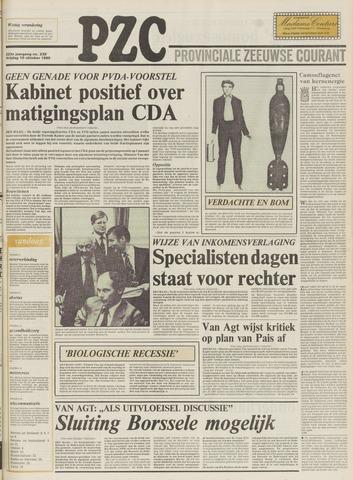 Provinciale Zeeuwse Courant 1980-10-10